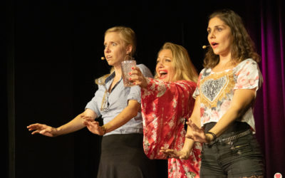 Bilder: Krimitheater Musical in der Rosenau am 27.09.2020