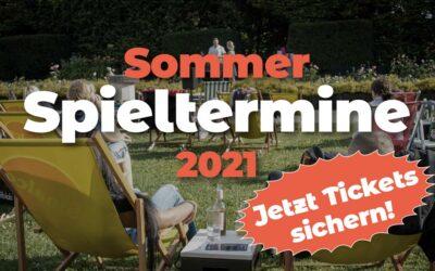 Sommer Spieltermine 2021