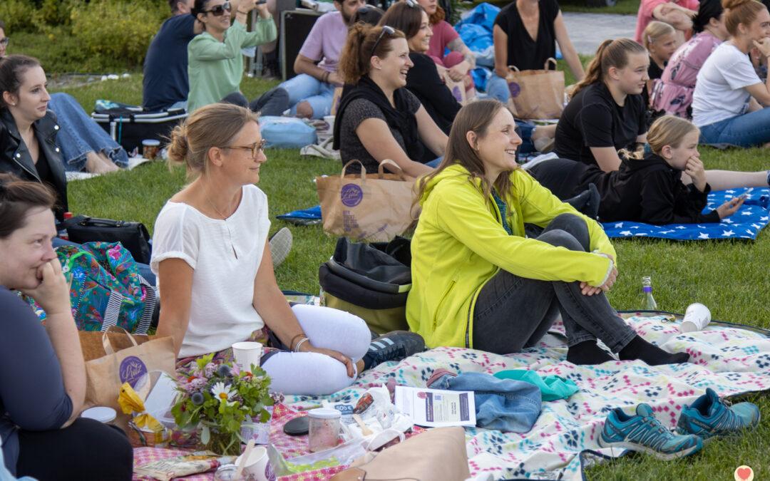 Bilder vom Theater-Picknick im Gaumentanz am 25.07.2021